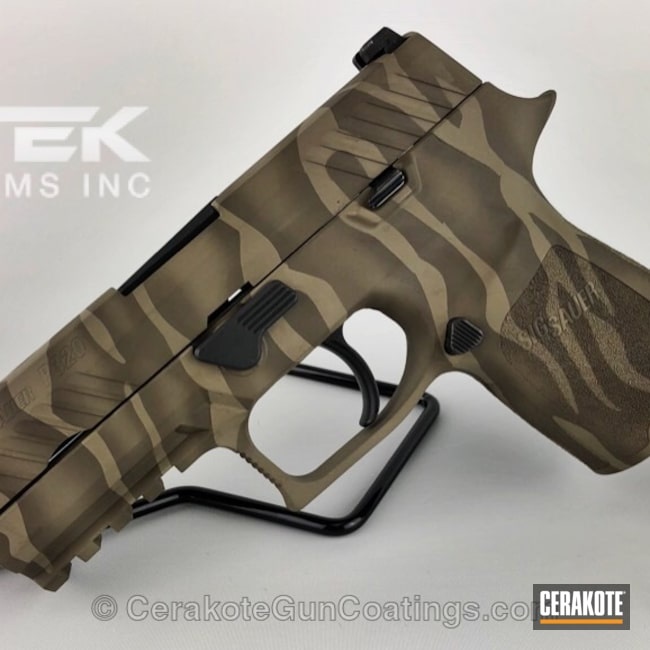 H-226 Patriot Brown with H-267 MagPul Flat Dark Earth