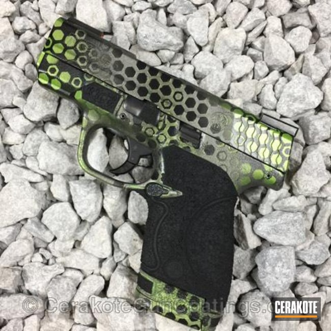 H-237 Tungsten, H-190 Armor Black and H-168 Zombie Green