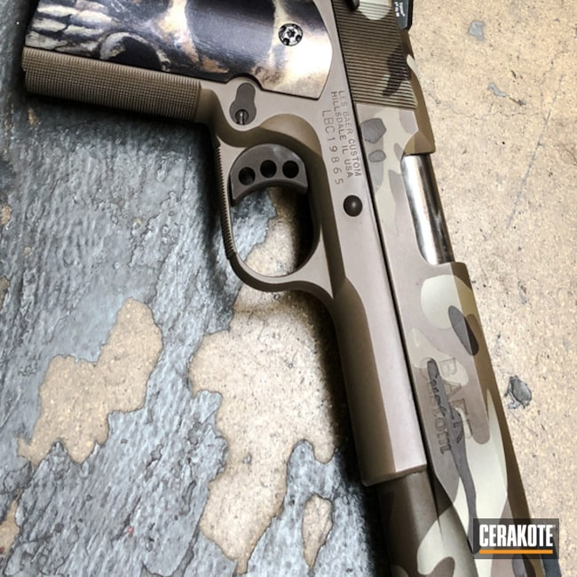 H-267 MagPul Flat Dark Earth, H-226 Patriot Brown, H-258 Chocolate Brown, H-143 Benelli Sand and H-235 Coyote Tan