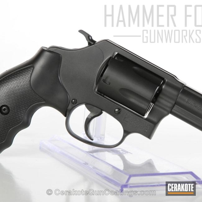 Cerakoted: Graphite Black H-146,.357 Magnum,Smith & Wesson,Revolver