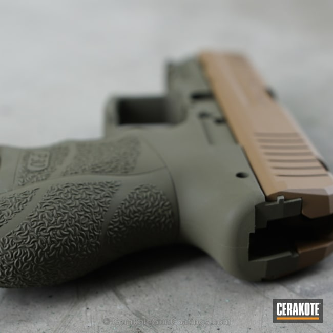 H-232 MagPul O.D. Green and H-250 A.I. Dark Earth