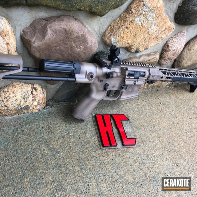 H-267 MagPul Flat Dark Earth, H-190 Armor Black and H-258 Chocolate Brown