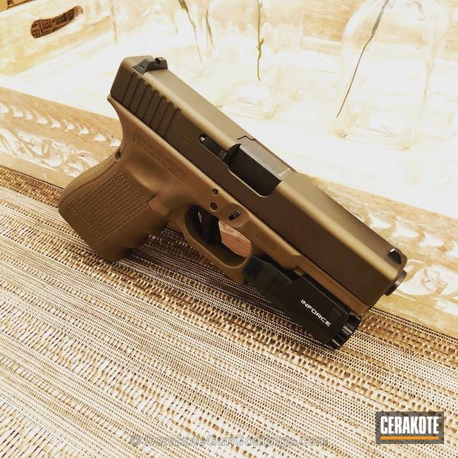 H-294 Midnight Bronze and H-261 Glock FDE