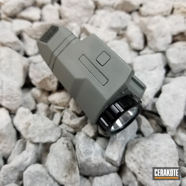 Cerakoted: Weapon Light,Glock Grey H-184,Inforce,GLOCK® GREY H-184