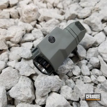 Cerakoted H-184 Glock Grey