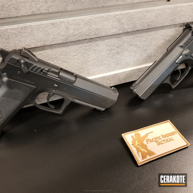 "Thumbnail image for project ""Custom Handguns coated in Graphite Black"""