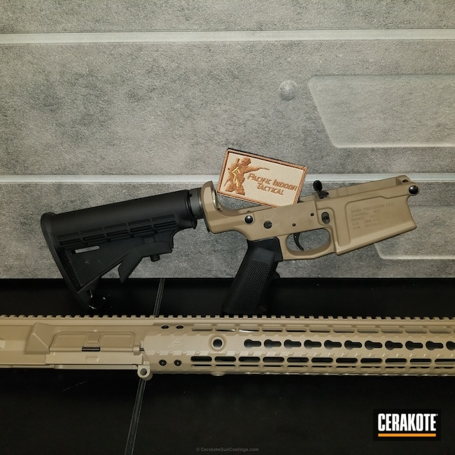 "Thumbnail image for project ""Aero Precision Rifle Parts coated in MagPul Flat Dark Earth"""