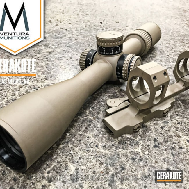 Solid Tone coated Scope in MagPul Flat Dark Earth