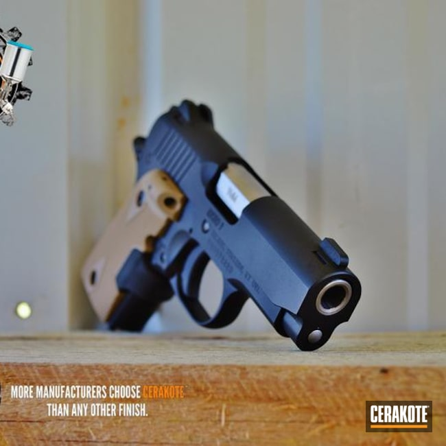 "Thumbnail image for project ""Customized Kimber Handgun coated in Cerakote's Graphite Black"""