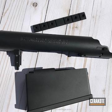 Cerakoted Gun Parts Coated In Graphite Black