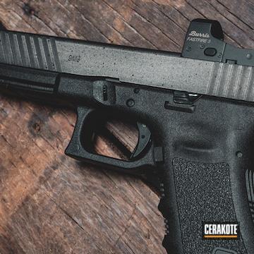 Cerakoted Glock 17l Coated In A Battleworn Cerakote Finish