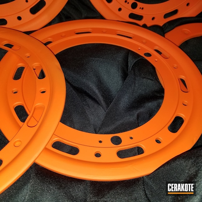 "Thumbnail image for project ""Auto Parts coated in H-128 Hunter Orange"""