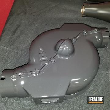 Cerakoted Custom Auto Parts Coated In C-102 Graphite Black