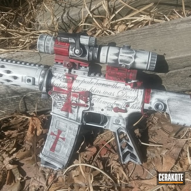 "Thumbnail image for project ""Custom Rifle Build in a Knights Templar Theme"""