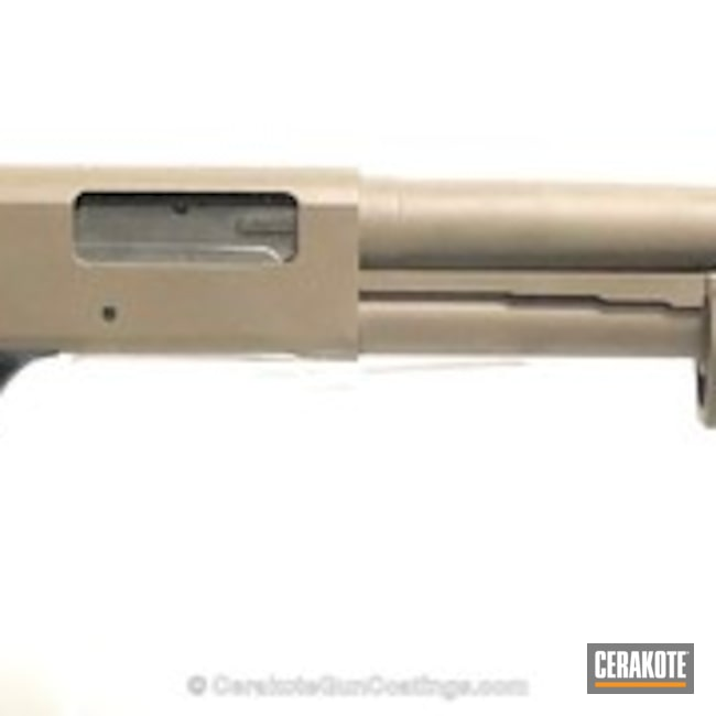 Cerakoted: Tactical Shotgun,MAGPUL® FLAT DARK EARTH H-267,Shotgun,Graphite Black H-146,12 Gauge,Mossberg,Tactical Mossberg,Mossberg 500