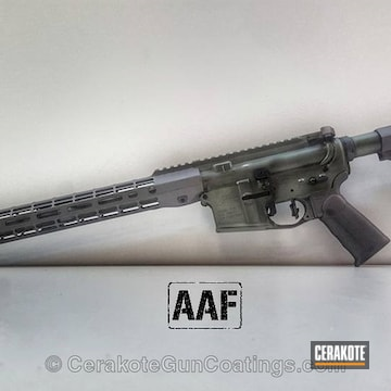 Cerakoted Aero Precision Ar15 Build Done In A Custom Cerakote Finish
