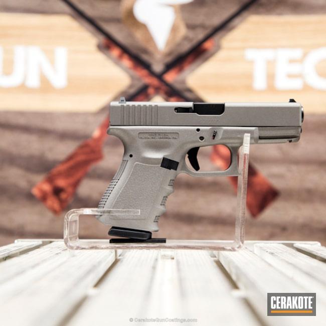 Cerakoted: Stainless H-152,Pistol,Glock,Glock 23