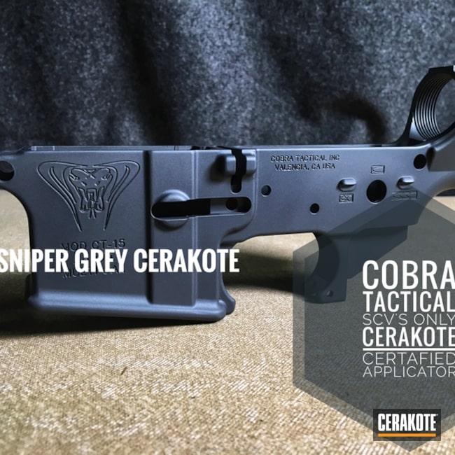 Cerakoted: Sniper Grey H-234,Multi cal,Lower,AR-15