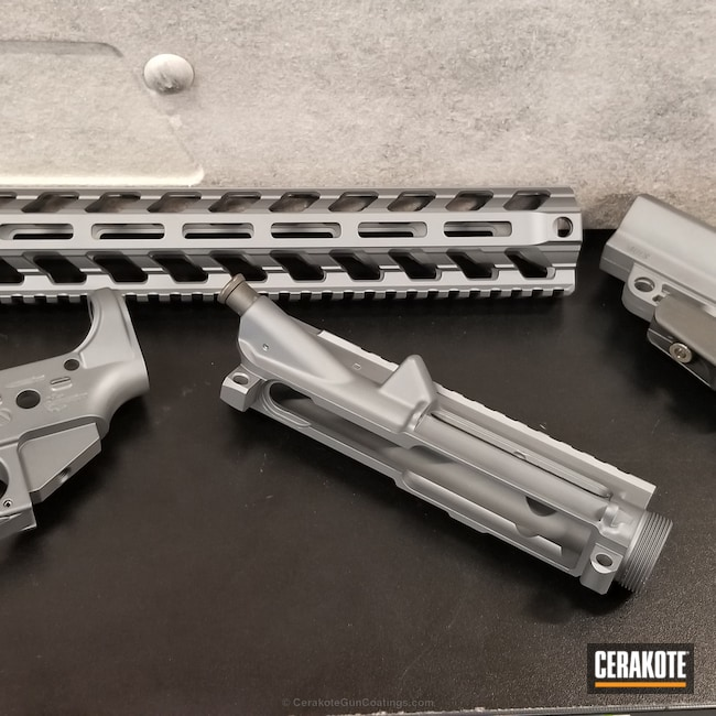 "Thumbnail image for project ""Rifle Parts done in a Sniper Grey Solid Tone"""