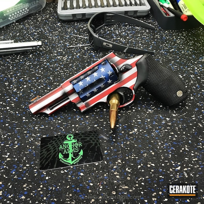 American Flag Themed Revolver