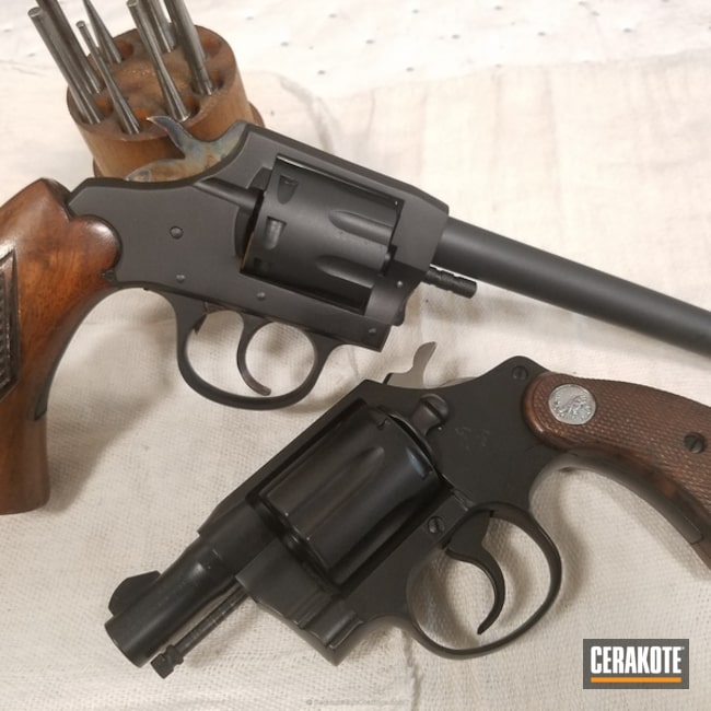 "Thumbnail image for project ""Restored Revolvers done in H-146 Graphite Black"""