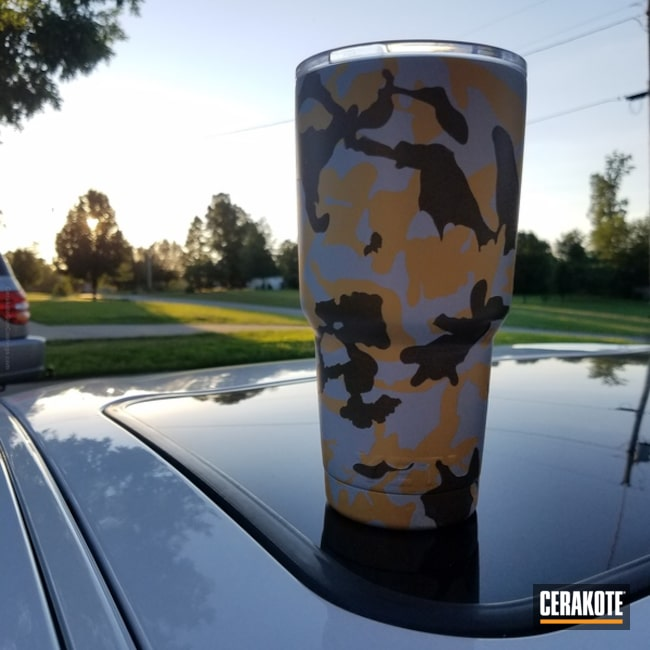 "Thumbnail image for project ""YETI Cup cone in a Custom MultiCam Finish"""