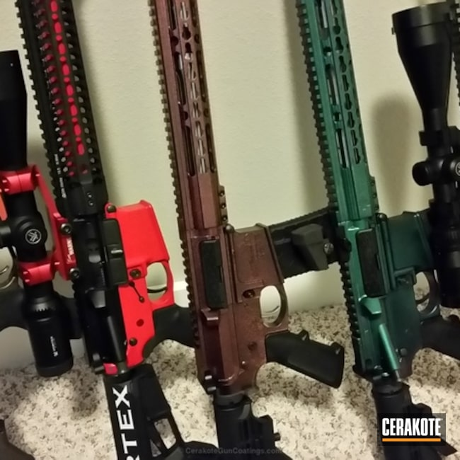 Tactical Rifles in a variety of Cerakote Finishes