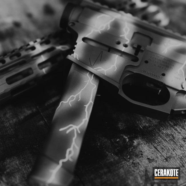 Cerakoted: 9mm,Sniper Grey H-234,AR Pistol,Robin's Egg Blue H-175,Lightning,Jones Arms,Sky Blue H-169,AR-15,PCC
