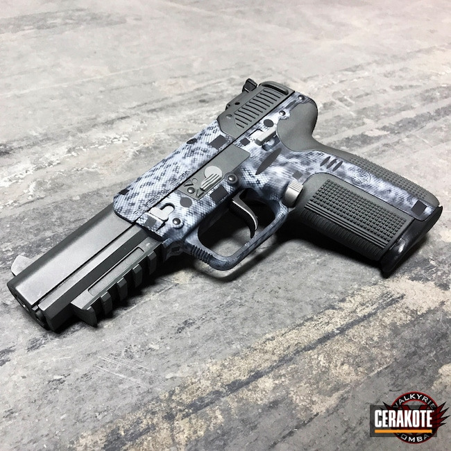 FN Herstal FN57 Handgun in a Custom Cerakote Finish