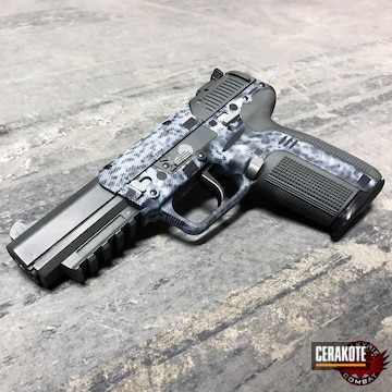 Cerakoted Fn Herstal Fn57 Handgun In A Custom Cerakote Finish
