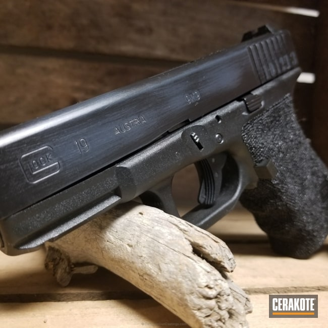 "Thumbnail image for project ""Glock 19 Battleworn with a Full Frame Stipple Job"""