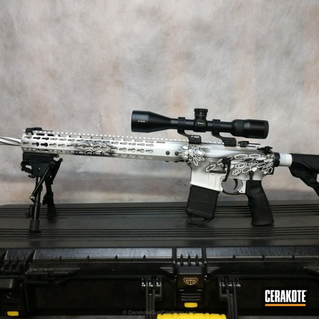 AR coated in H-237 Tungsten and H-297 Stormtrooper White