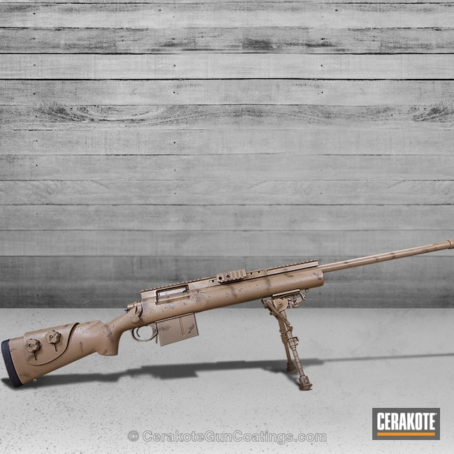 Remington 700 Bolt Action Rifle finished in H-267 MagPul Flat Dark Earth