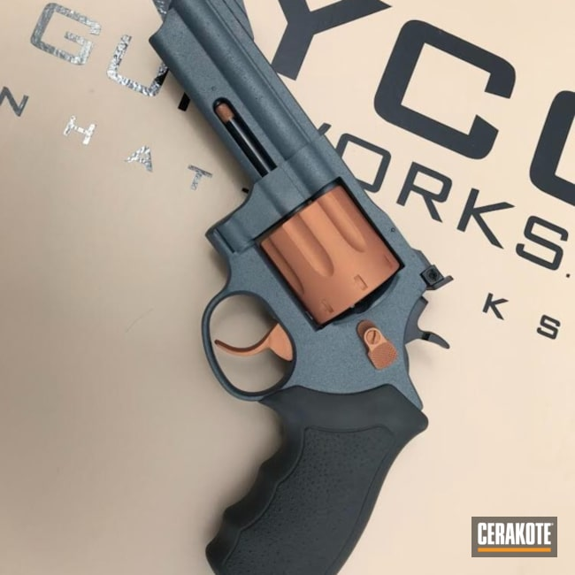 Cooper 357 Revolver in a Custom Cerakote Two Tone Finish