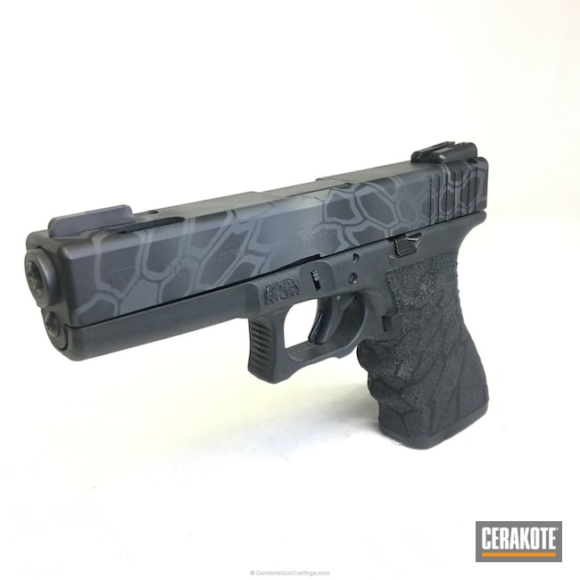Glock 20C Handgun in a Kryptek Camo Finish