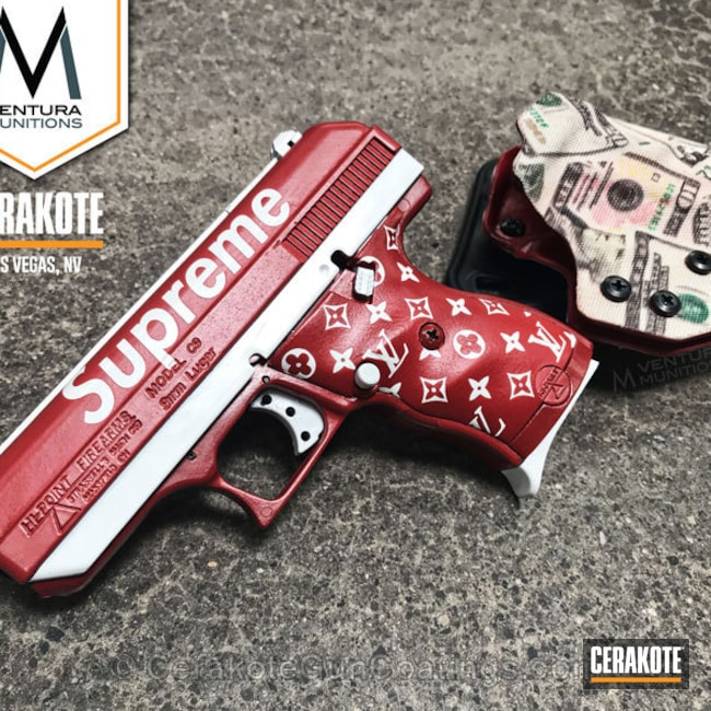 Hi-Point Handgun in a Custom Cerakote Finish