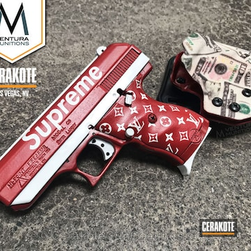 Cerakoted Hi-point Handgun In A Custom Cerakote Finish