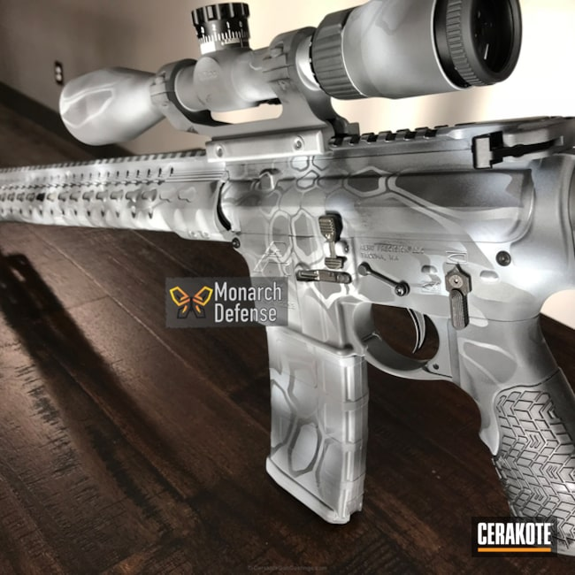 "Thumbnail image for project ""Aero Precision Rifle Build in a Cerakote Typhon Kryptek Pattern"""