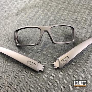 Cerakoted Glasses Coated In Cerakote C-102 Graphite Black