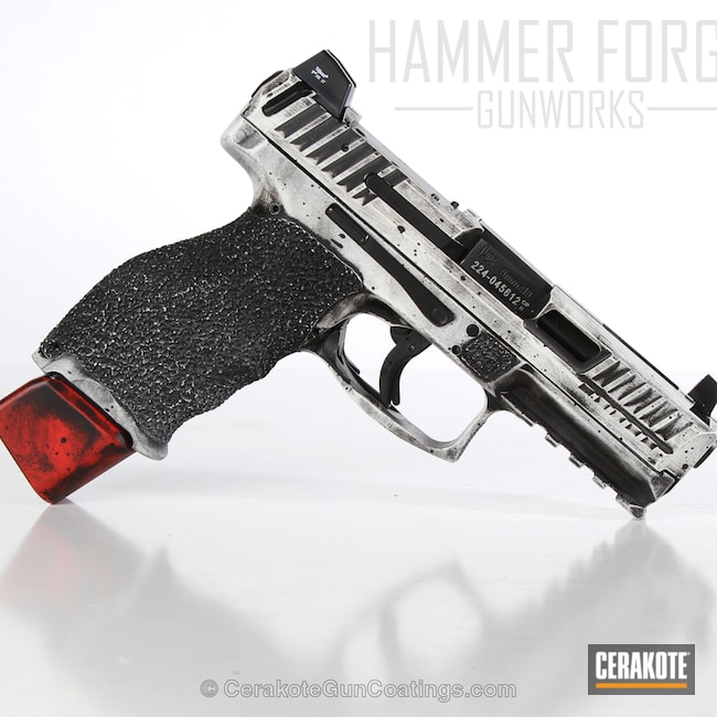 Cerakote Coatings Gallery Detail Hk Red Big Version Of The 1st Project Picture Graphite Black H 146q Heckler