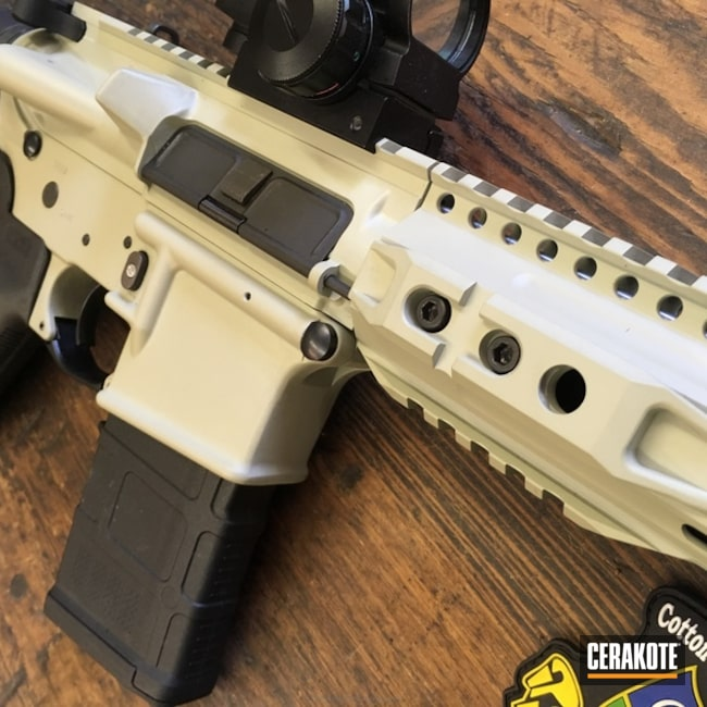 Tactical Rifle in Cerakote H-247 Desert Sage