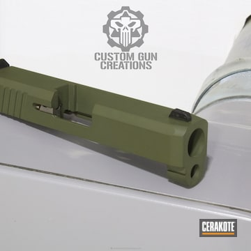 Cerakoted Kahr Arms Slide In H-232 Magpul O.d. Green