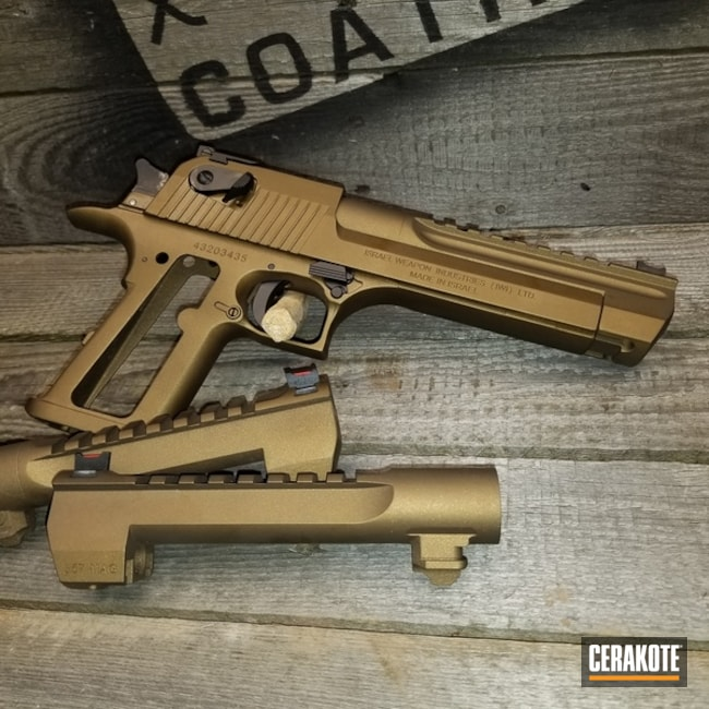 Desert Eagle done in H-148 Burnt Bronze