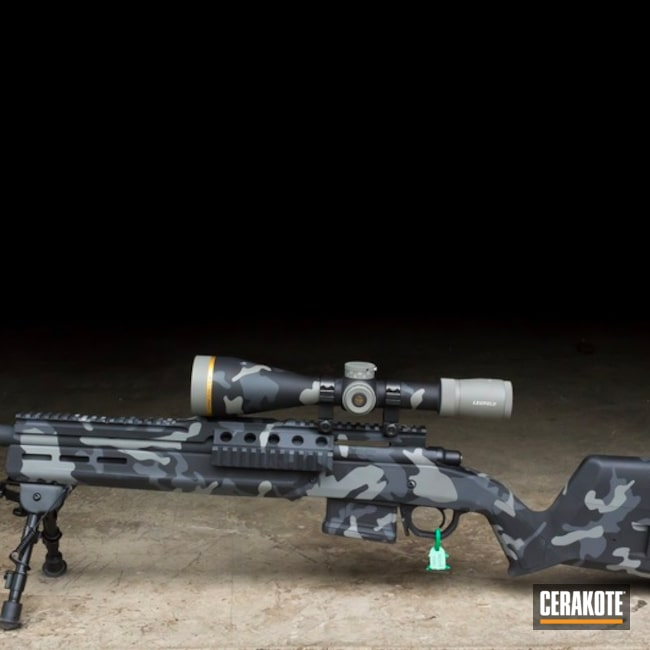 Leupold 308 Rifle Cerakoted in an Urban Multicam Finish