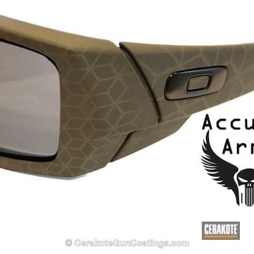 Cerakoted Laser Imaging Oakley Sunglasses With Cerakote