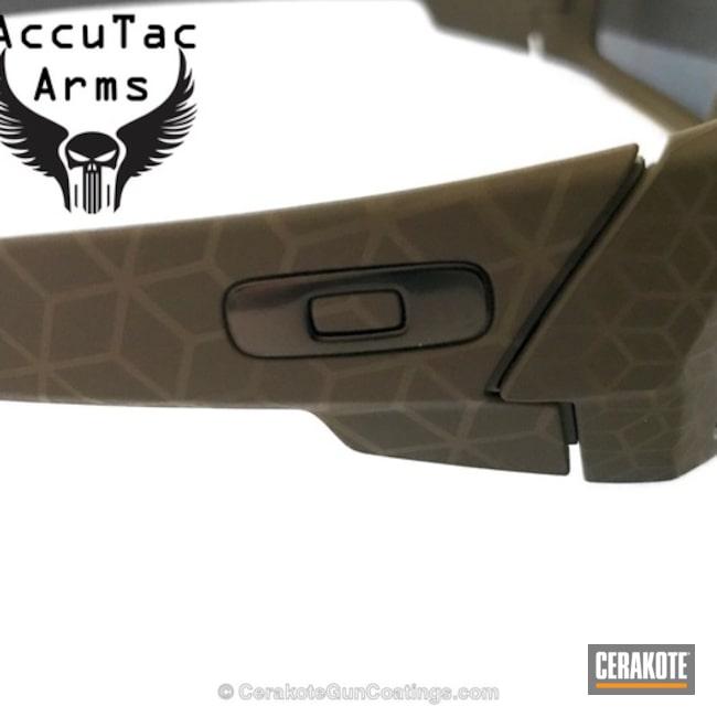 Cerakoted: Oakley,More Than Guns,Laser Imaging,Flat Dark Earth H-265,Laser Engrave,Oakley Gascan