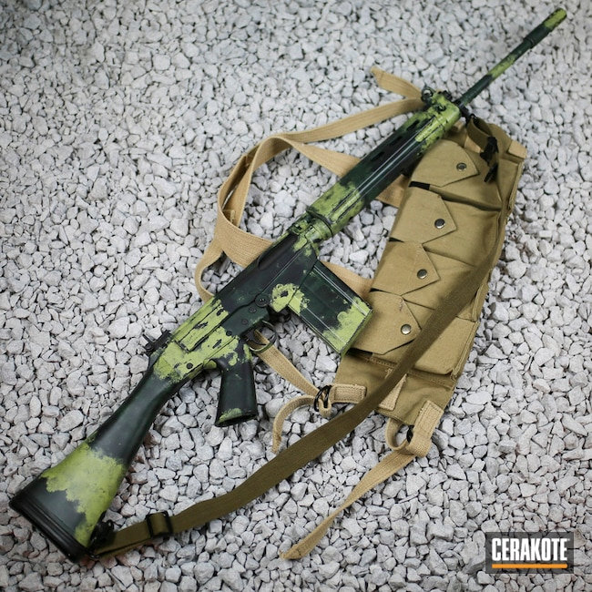 Cerakoted Leaf Green Ar