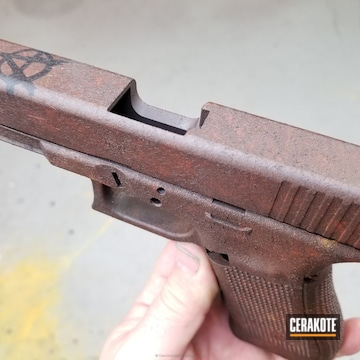 Cerakoted Glock Handgun In A Custom Cerakote Finish