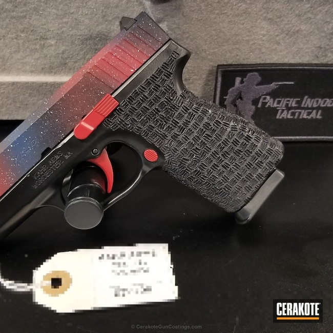 Kahr Arms Handgun in a Custom Cerakote Finish