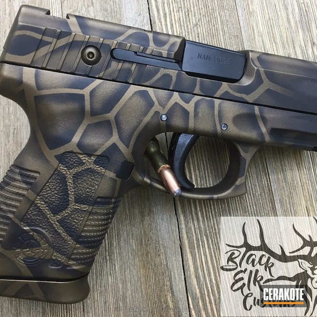 "Thumbnail image for project ""Taurus Handgun in a Kryptek Camo Finish"""